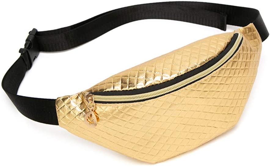 LOHONER Fashion Women Waist Fanny Pack Belt Bag Phone Pouch Travel Hip Bum Bag Small Purse