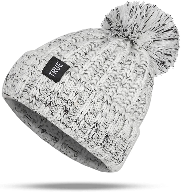Fashion Winter Hat Winter Warm Hat Pompom Women Beanie Knitted Caps Female Outdoor Leisure Warm Cap