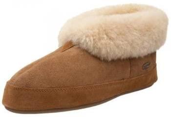Acorn Men's Sheepskin Bootie Slipper