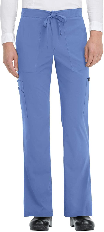 KOI Basics 605 Men's Luke Scrub Pants True Ceil MSH