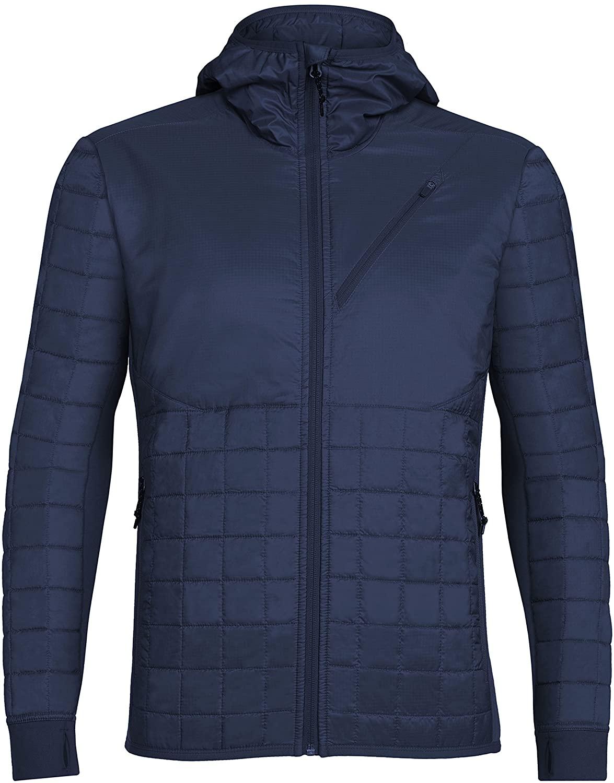Icebreaker Merino Mens Helix Hooded Jacket, New Zealand Merino Wool