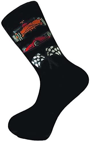 Racing Cars Cottonrich Unisex Novelty Ankle Socks Adult Size 6-11