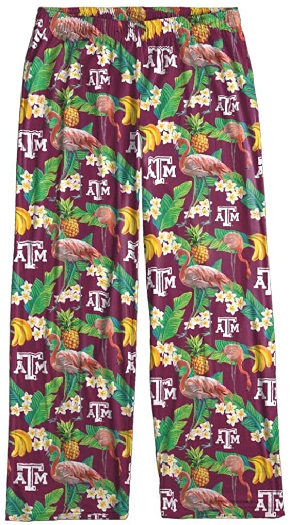 Texas A&M Aggies Women's Scatter Pattern Floral Pajama Lounge Pants