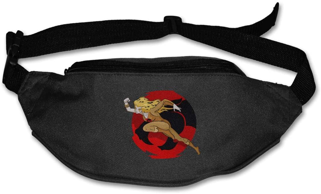 Edgergery Thundercats Cheetara Runner's Waist Pack Purse Belt Bag