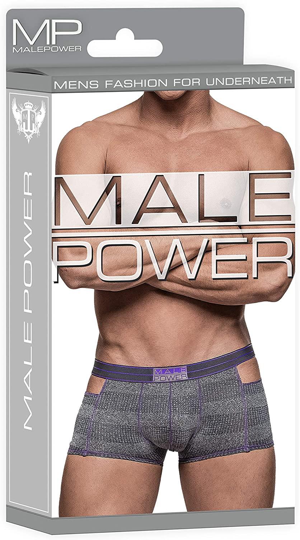 Male Power Heather Haze Cutout Short