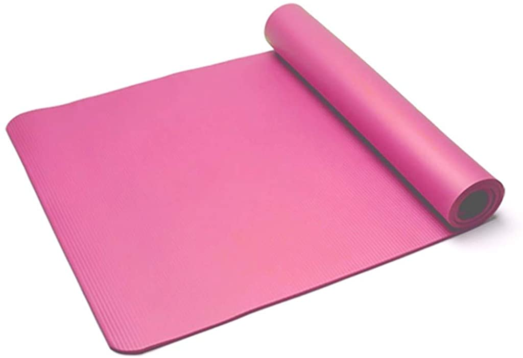 ZAU Yoga Mat Classic Pro Yoga Mat TPE Eco Friendly Non Slip Fitness Exercise Mat Home Gym Crossfit Out Physical Therapy