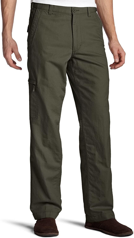 Dockers Mens Comfort Cargo D3 Classic-Fit Flat-Front Pant