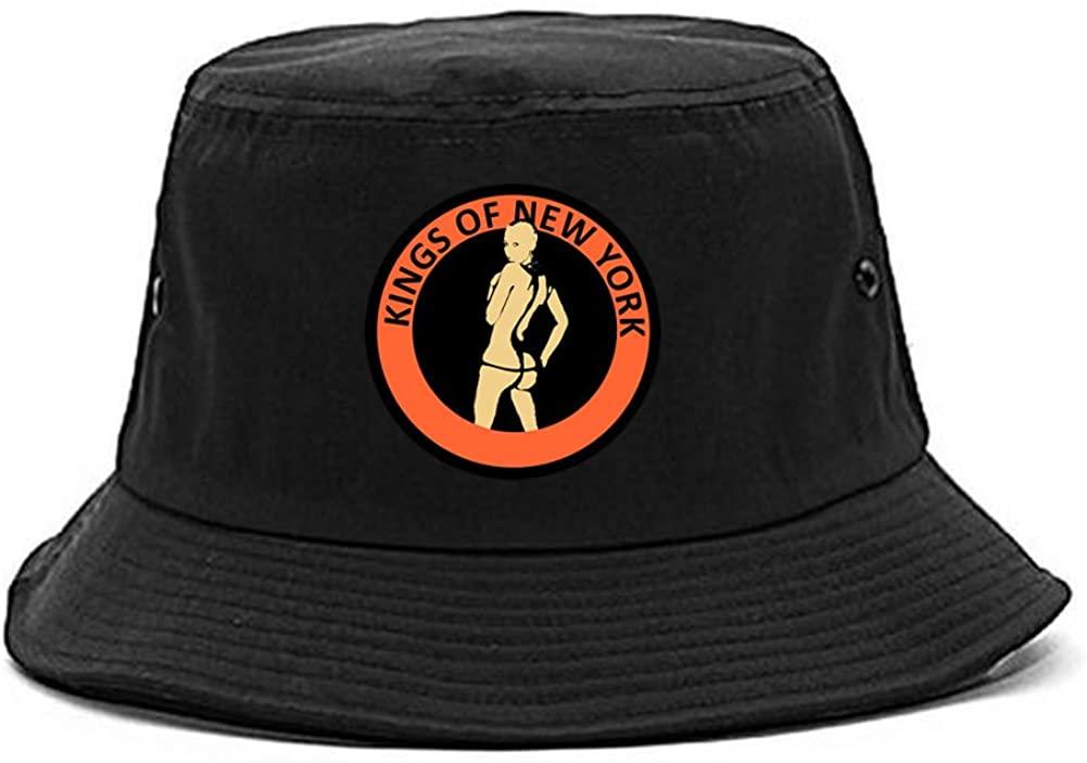 Kings Of NY Amber Logo Twerk Butt New York Style Bucket Hat