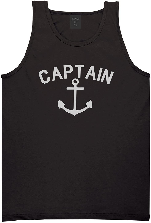 Sailing Captain Anchor Mens Tank Top Shirt