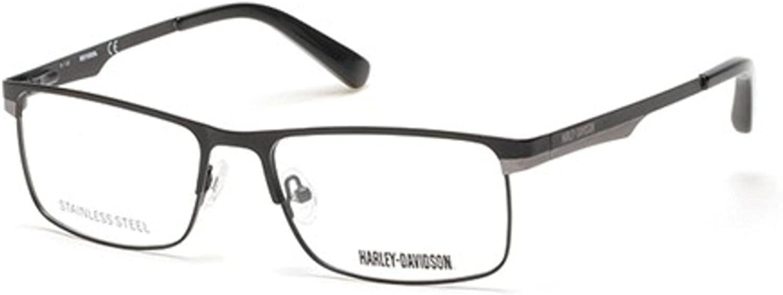 Eyeglasses Harley Davidson HD 753 HD 0753 002 matte black