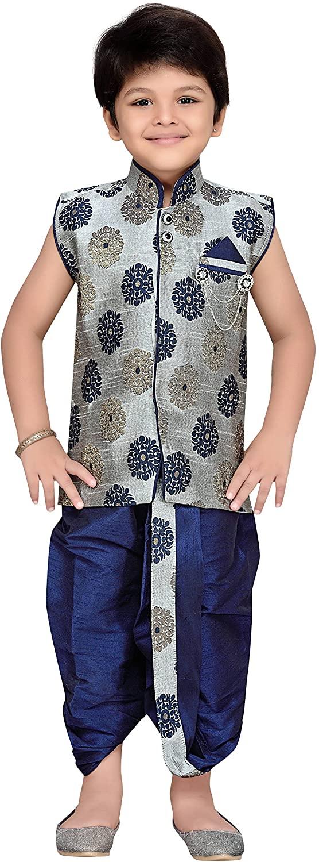 AJ DEZINES Kids Indian Wear Bollywood Style Kurta Dhoti Set for Boys