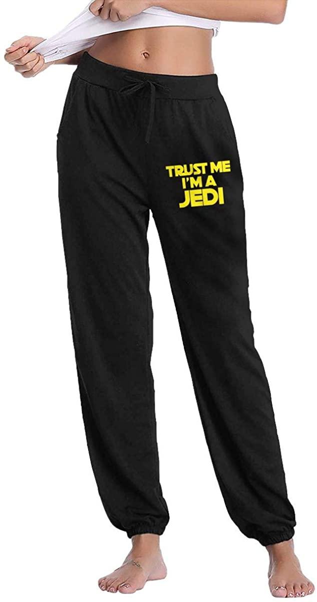 Womans Trust Me I'm A Jedi 1 Autumn Winter Long Trousers Classics Long Pants