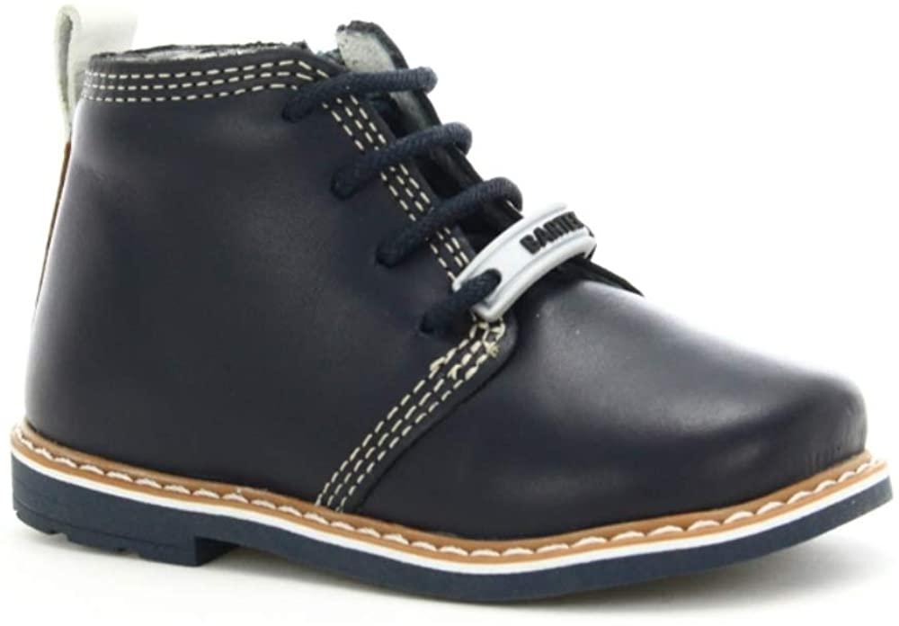 Bartek Baby Boys Leather Shoes Ankle Boots 81852/Y71 Black (Toddler/Little Kid)