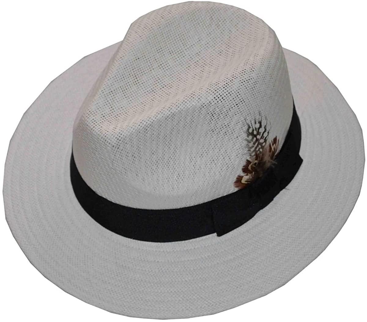 JKO Panama Straw Hat White