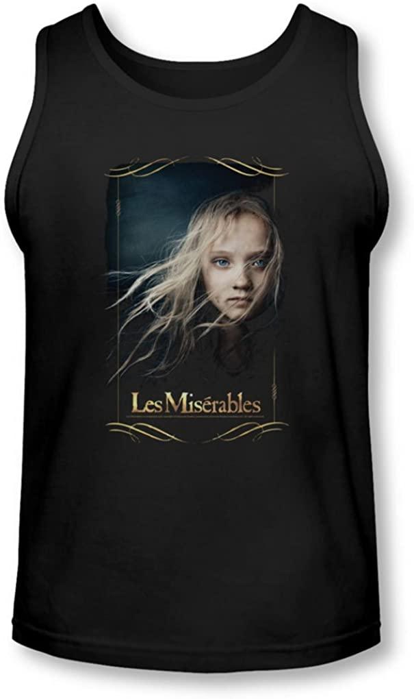 Les Miserables Mens Cosette Tank-Top