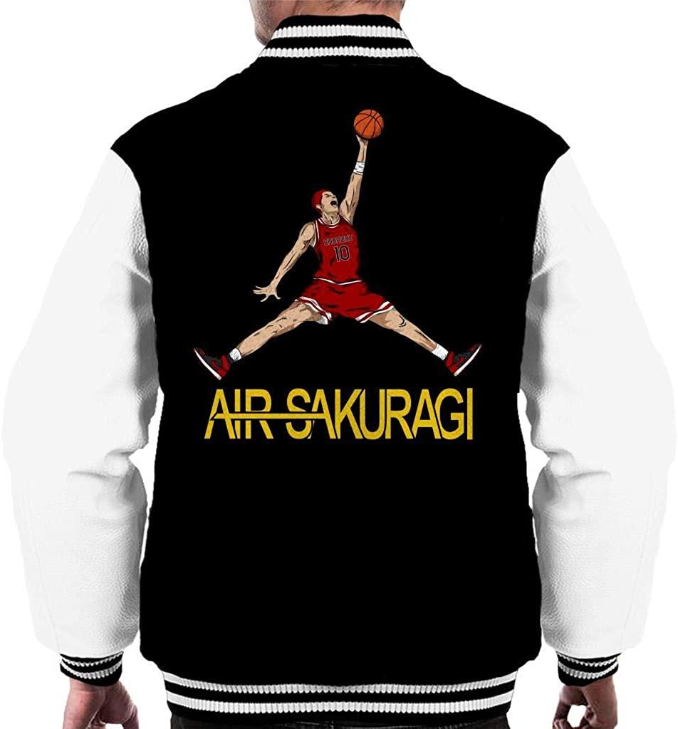 ASDGGF Slam Dunk Air Sakuragi Men's Varsity Jacket