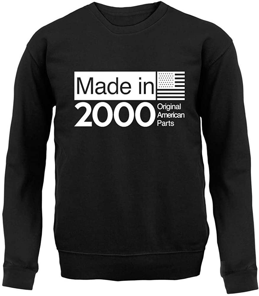 Made in 2000 USA Parts - Unisex Crewneck Sweater/Jumper