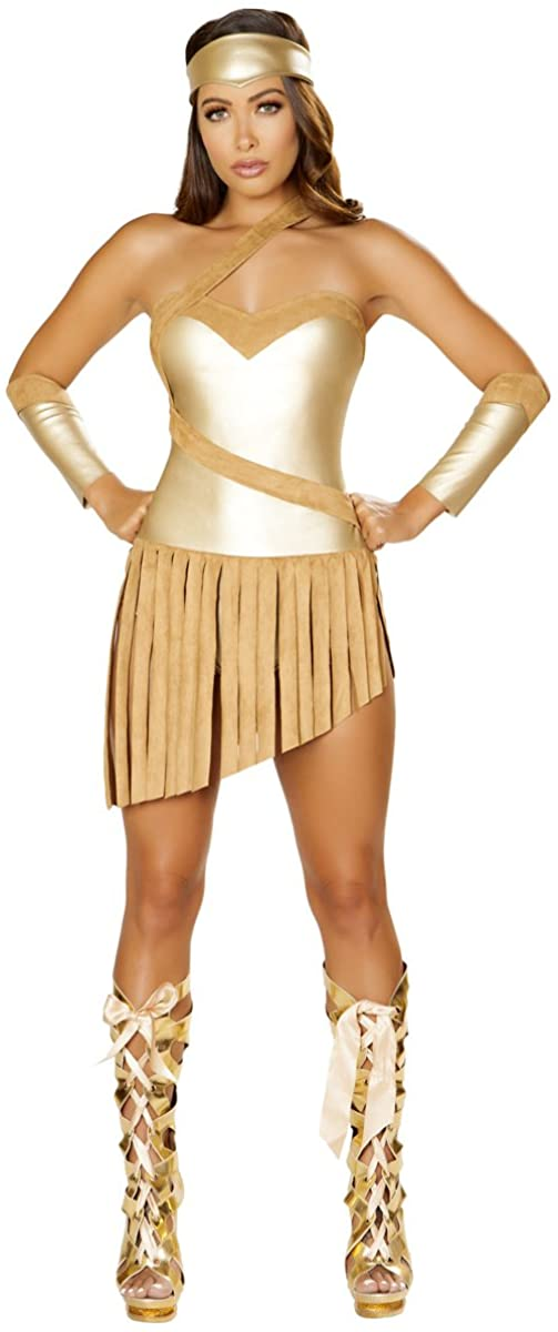 Musotica Sexy Equalizer Gladiator Fringed Costume with Accessories