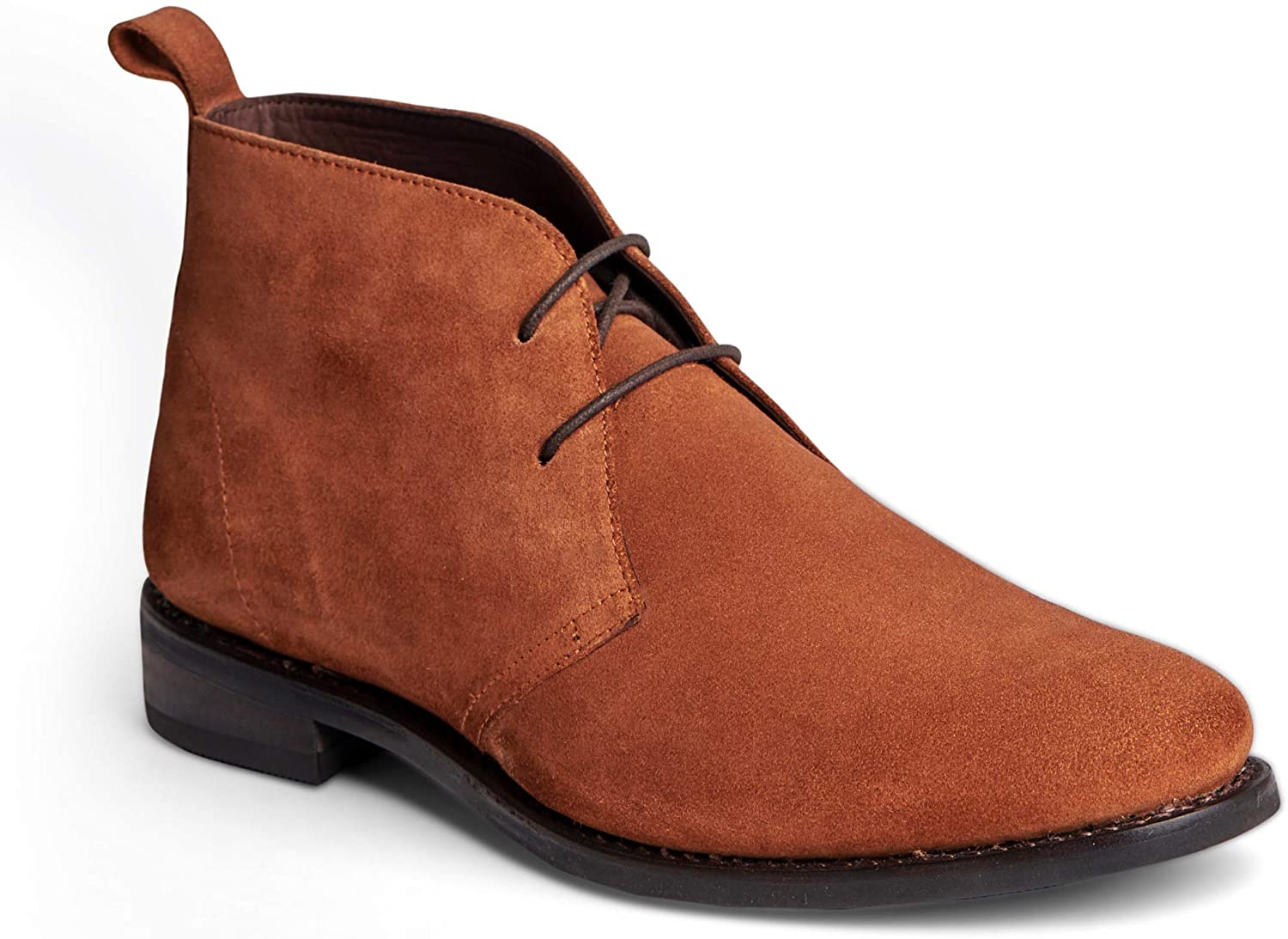 Anthony Veer Men's Arthur Leather Suede Chukka Desert Boot Casual Comfort Ankle Goodyear Welted