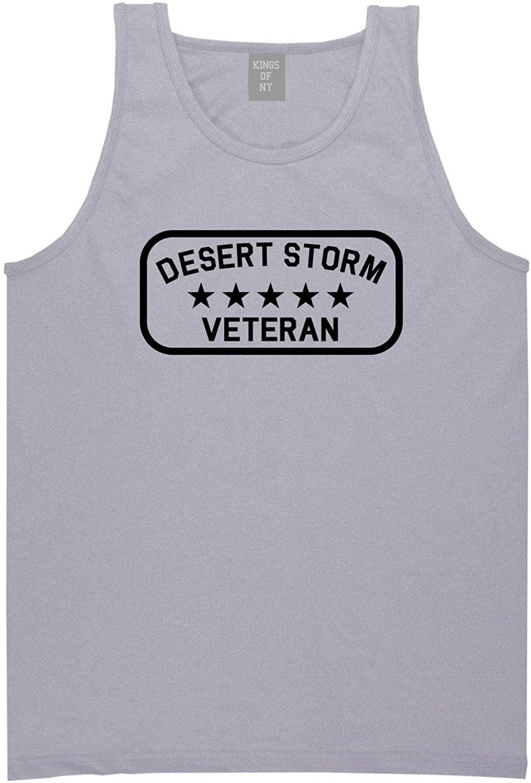 Kings Of NY Desert Storm Veteran Mens Tank Top Shirt