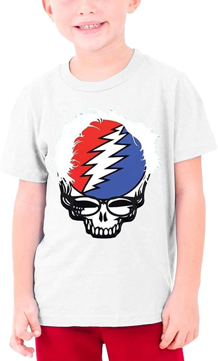 Boys and Girls Teens Short Sleeve T-Shirt Phish Unique Retro Design White
