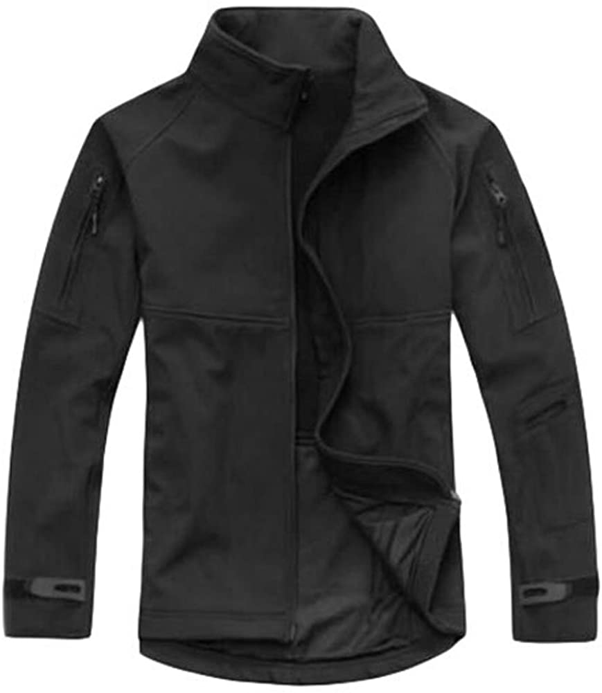 Esdy Men's Outdoor Winter Sports Jacket Black Size Large