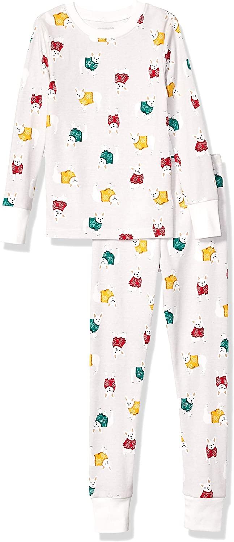 DHgate Essentials Kids' Long-Sleeve Tight-fit 2-Piece Pajama Set