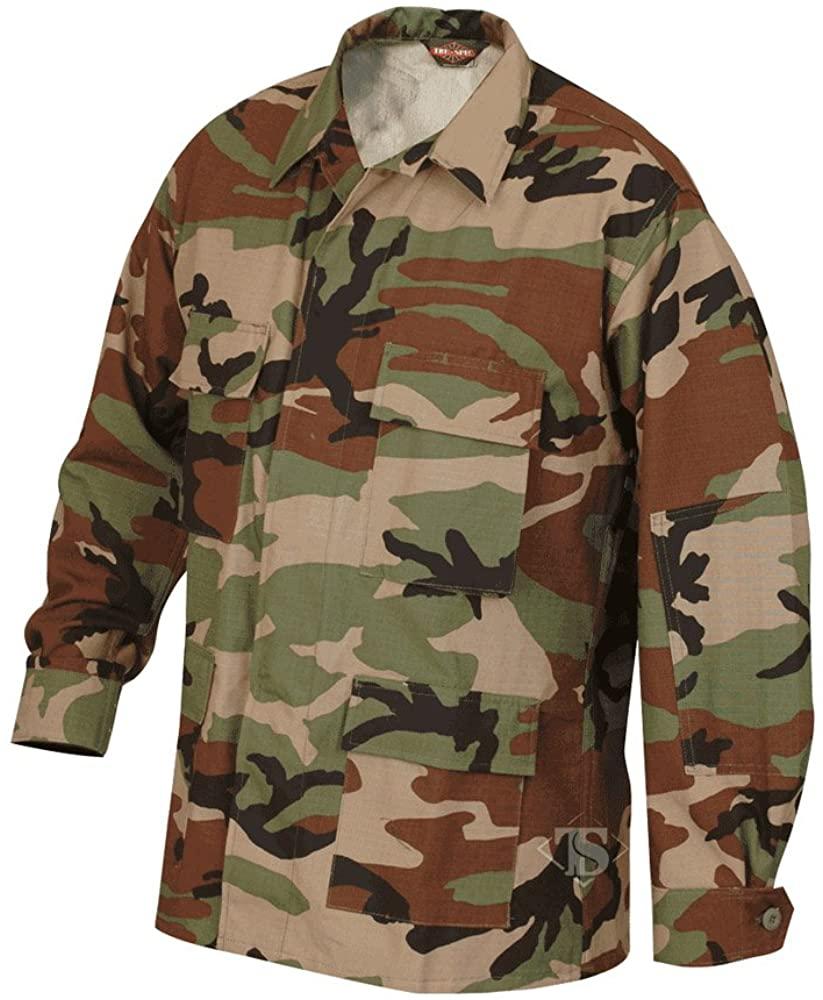 Tru-Spec Classic BDU Coat Cotton Ripstop Woodland M-Short 1514044