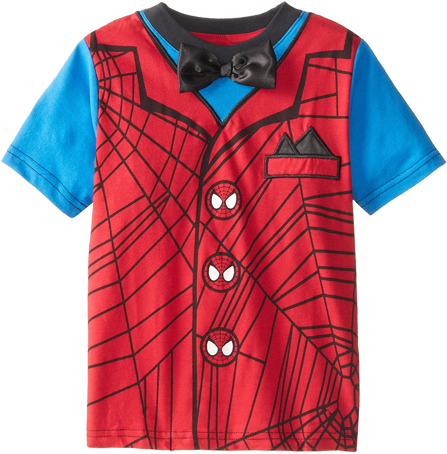 Marvel Boy's Formal Spidey T-Shirt