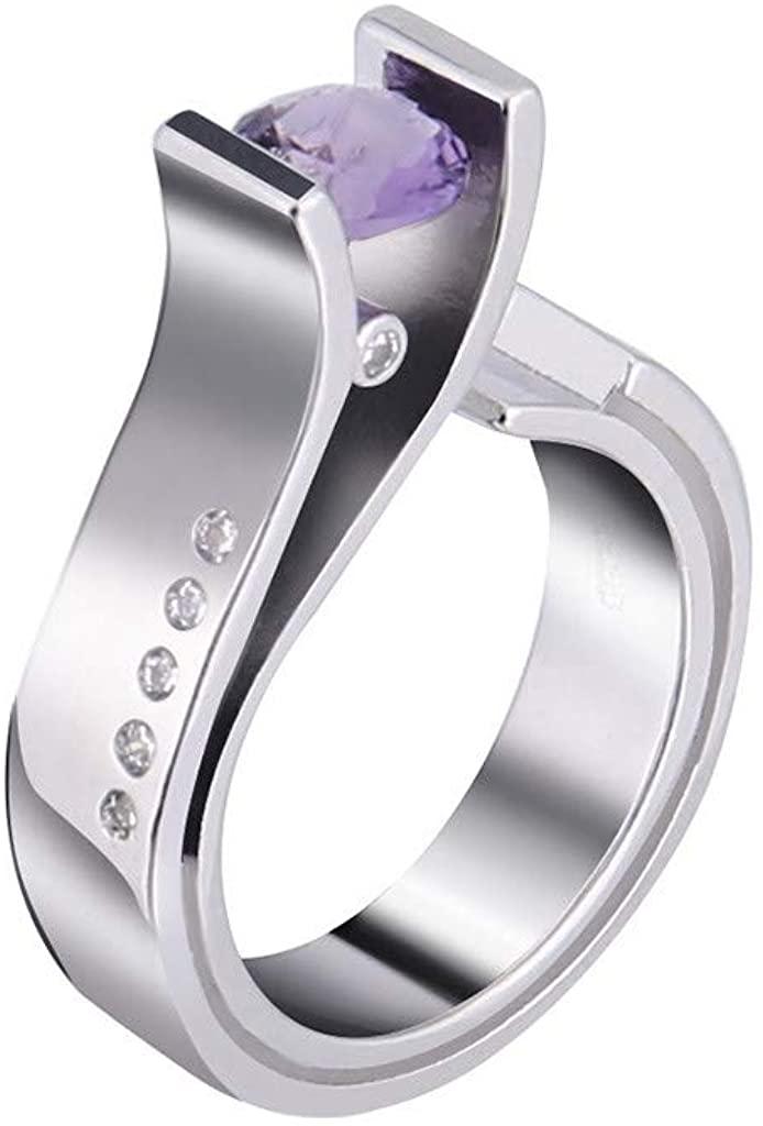 Hattfart Unique Design Metal Geometric Zircon Statement Wedding Engagement Anniversary Jewelry Gift for Women Girls
