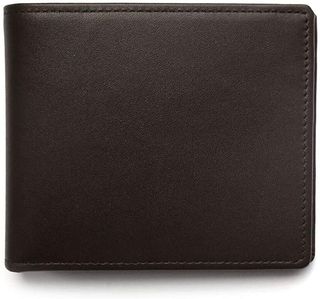 Boconi Men's Grant Billfold Leather Wallet, Espresso