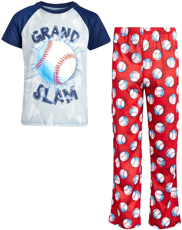Only Boys Sleepwear Short Sleeve Top and Pajama Pants 2-Piece Set