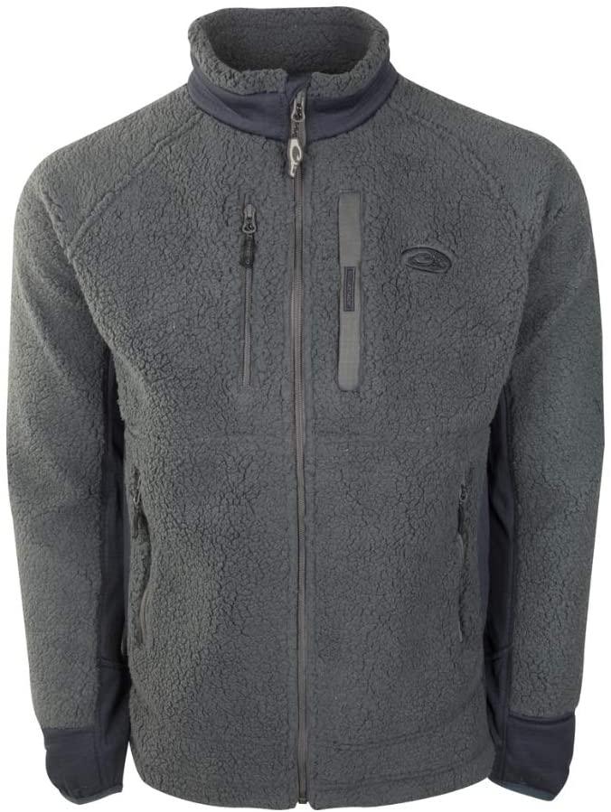 Drake Waterfowl Men's Sherpa Fleece Layering Jacket
