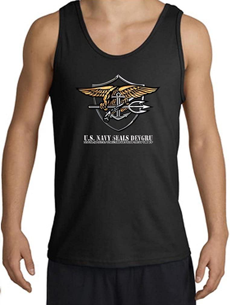 Buy Cool Shirts Mens US Navy Seal Tanktop Devgru Military Tank Top