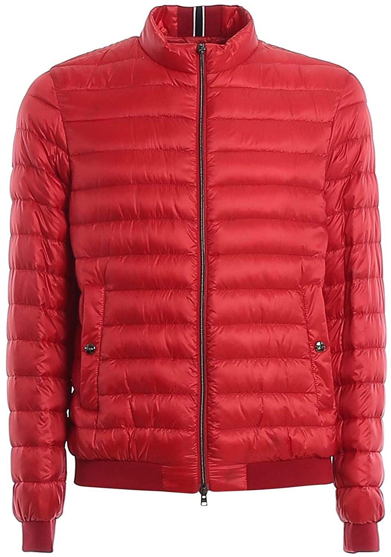 Herno Luxury Fashion Man PI0611U120206980 Red Polyamide Down Jacket   Spring Summer 20