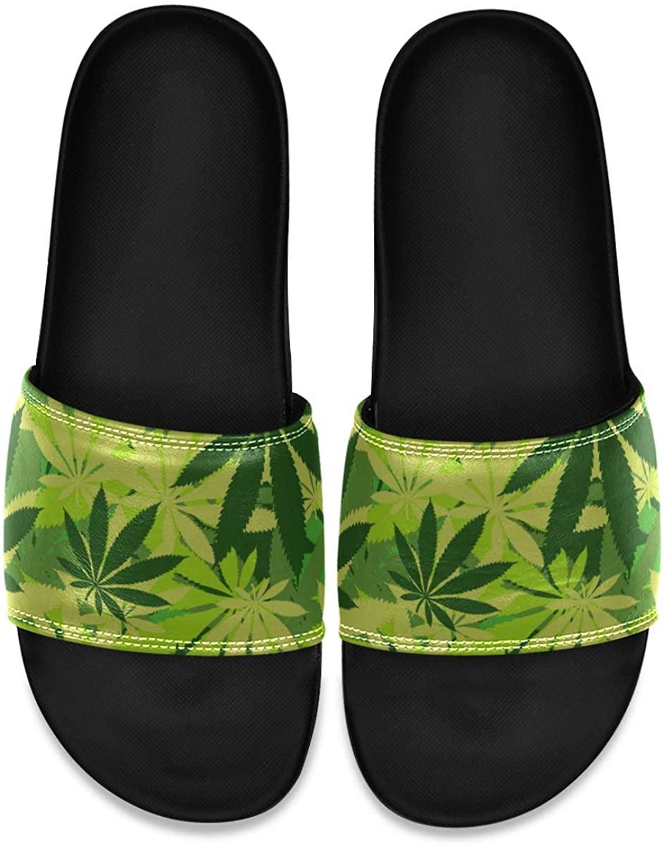 Men's Shower Slides Eye Opening Flower Slide Sandal, Slippers, Sandals for Men