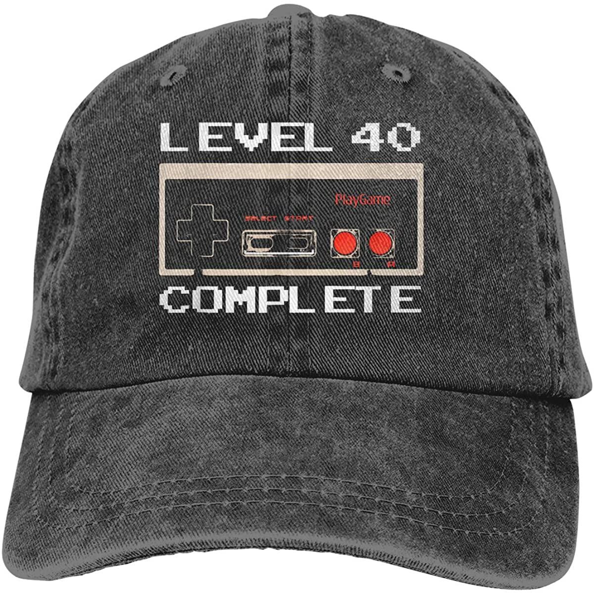 Level 40 Unlocked Unisex Adult Cowboy Hat