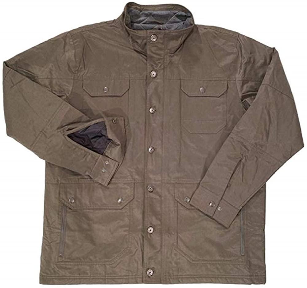 Orvis Men's Quilt Lined Insulated Jacket (Hazelnut, Large)