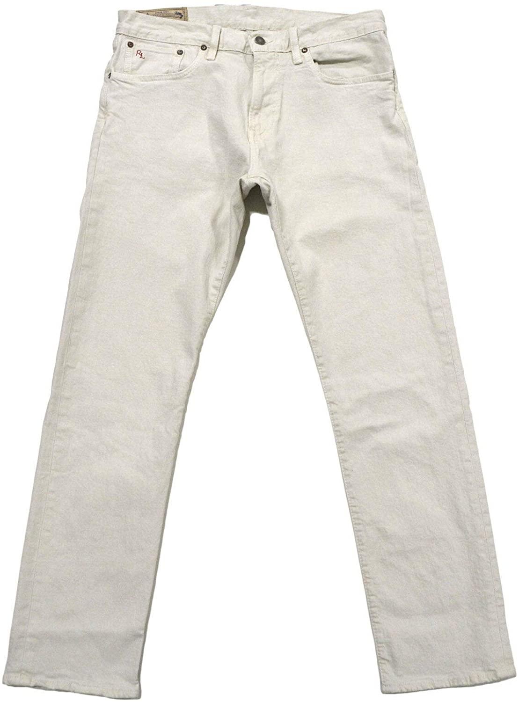 Polo Ralph Lauren Mens Hampton Straight Fit Jeans
