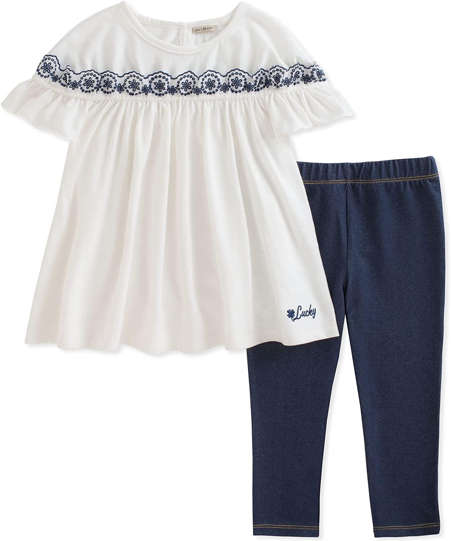 Lucky Brand Girls Pants Set