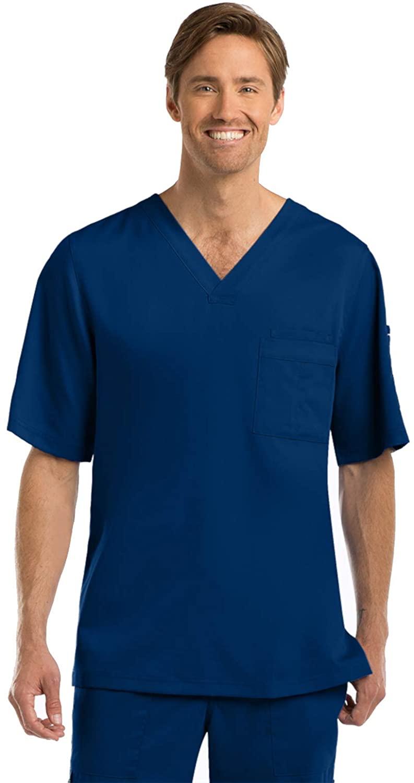 Grey's Anatomy Signature Signature Men's Scrubs, Indigom