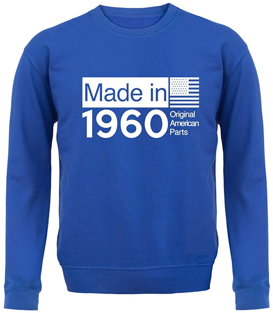 Made in 1960 USA Parts - Unisex Crewneck Sweater/Jumper