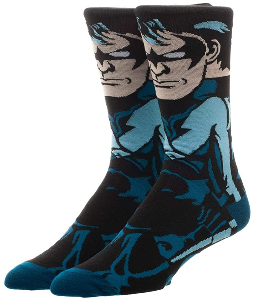 Nightwing Socks DC Accessories - Nightwing Accessories DC Socks - Nightwing Apparel