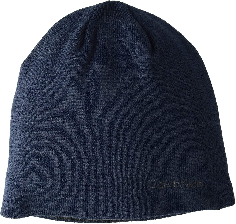 Calvin Klein Mens Knit Beanie