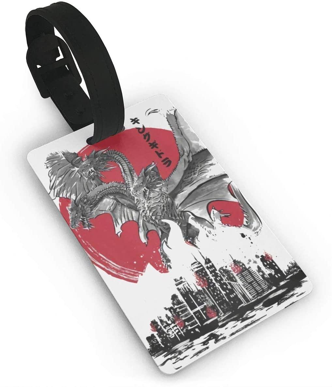 Monsters Godzilla & Ghidorah & Rodan & Mothra Luggage Tag