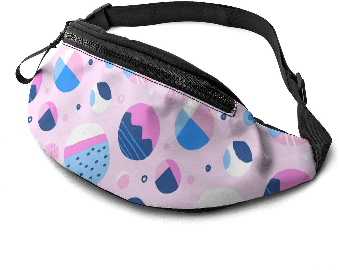 Colourful Rounds Fanny Pack Fashion Waist Bag