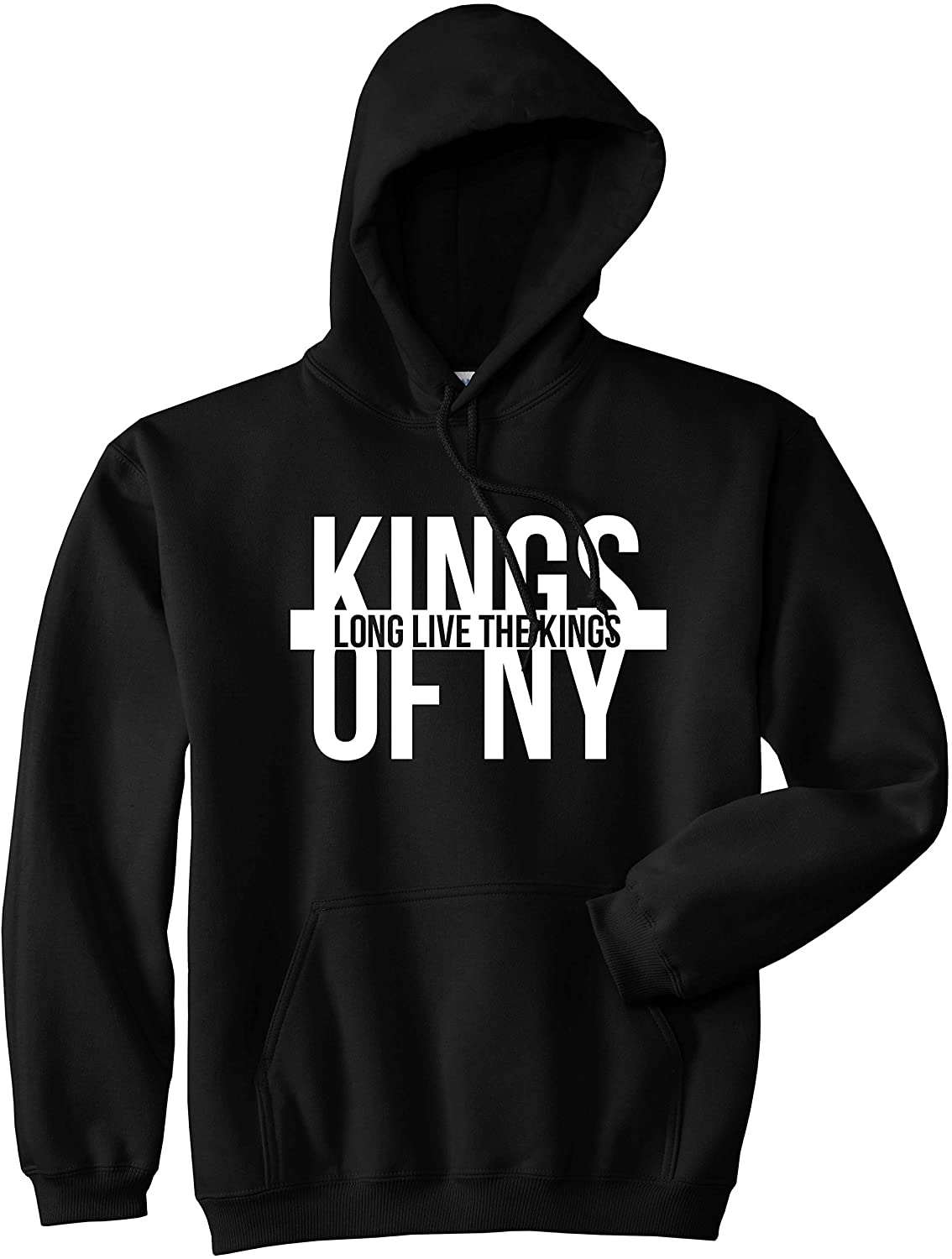 Kings Of NY Long Live The King New York LA DC SF Pullover Hoody Sweatshirt