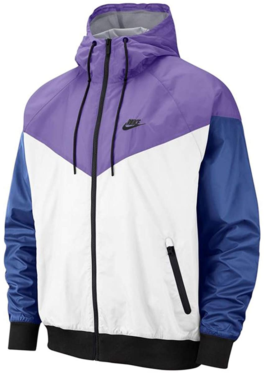 Nike Mens NSW Windrunner Hooded Jacket Ar2191-101