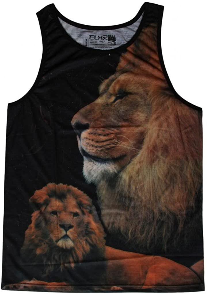 EXR Lion King Mens Short-Sleeve Tank Top