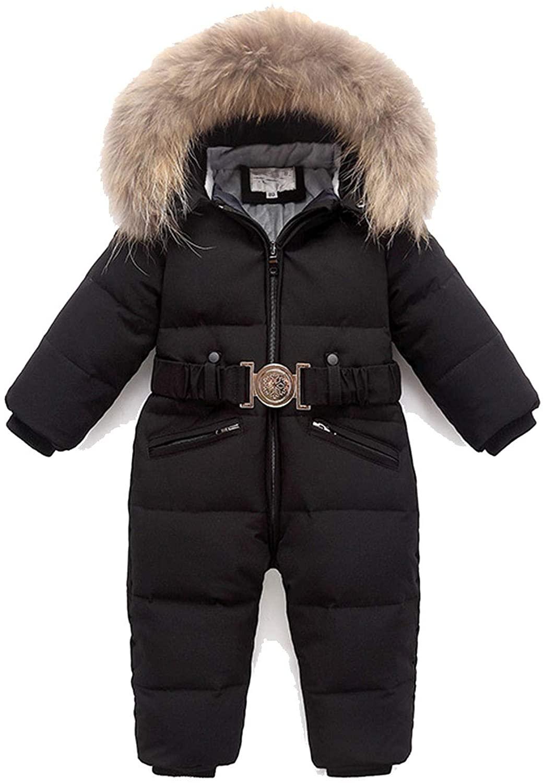 Fenyoung Children Winter Jumpsuit Kids Baby Snowsuit Duck Down Jacket for Girls Coats Toddler Winter Park